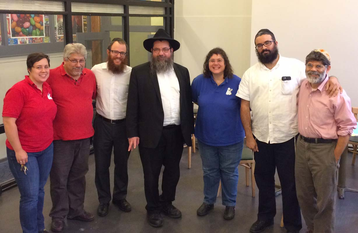 Herrell's® staff with rabbis from Pioneer Kosher