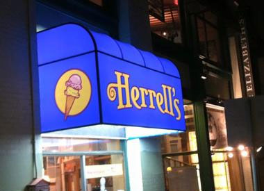 Herrell's® awning