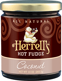 Herrell's® Coconut Hot Fudge Sauce