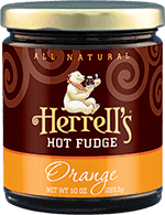 Herrell's® Orange Hot Fudge Sauce