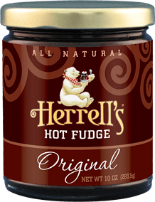 Jar of Herrell's® hot fudge